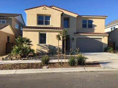 Chula Vista Single Family Home For Sale: 1149 Camino Cantera