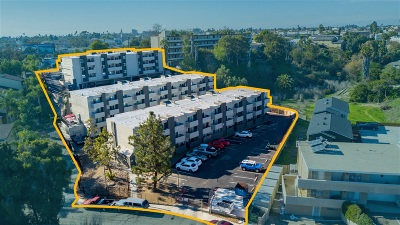 San Diego Multi Family 5+ For Sale: 4019-25 Oakcrest Drive