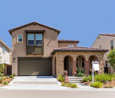 Single Family Home For Sale: 13949 Centella Way