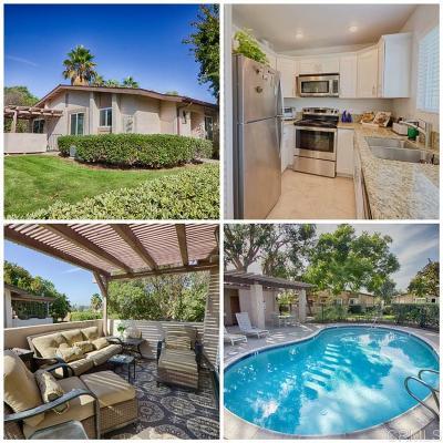 Rancho Bernardo, San Diego Townhouse For Sale: 12565 Caminito De La Gallarda