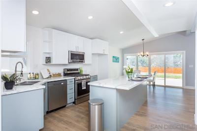 Clairemont, Clairemont Mesa, Clairemont Mesa East, Clairemont Unit 16, Clairmont Single Family Home For Sale: 4950 Monongahela St