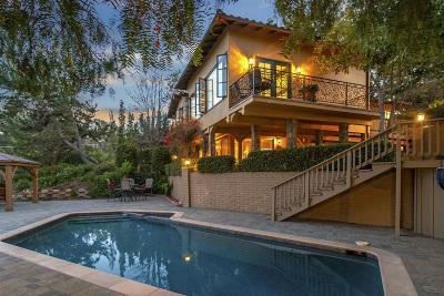 La Mesa Single Family Home For Sale: 10135 Hermosa Way