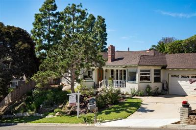 Oceanside Single Family Home For Sale: 2276 Fuerte Street
