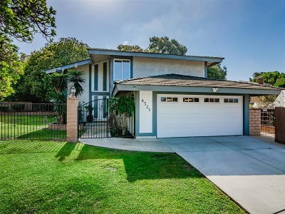 Carlsbad Single Family Home For Sale: 4325 Sea Bright Dr