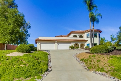 Riverside County, San Diego County Single Family Home For Sale: 16819 Daza Dr