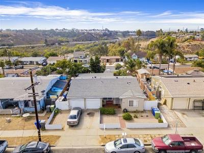 Oceanside Multi Family 2-4 For Sale: 1509 San Mateo St