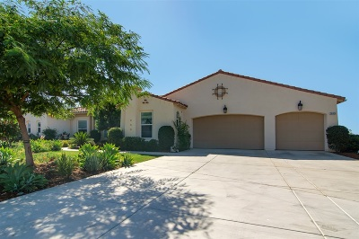 Valley Center Single Family Home For Sale: 26913 Red Ironbark Drive