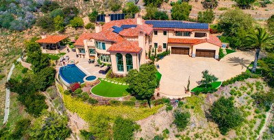 Rancho Santa Fe Single Family Home For Sale: 8318 Via Dora