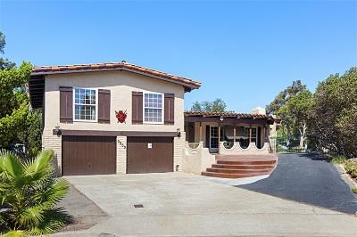 Bonita Single Family Home For Sale: 3555 Yerba