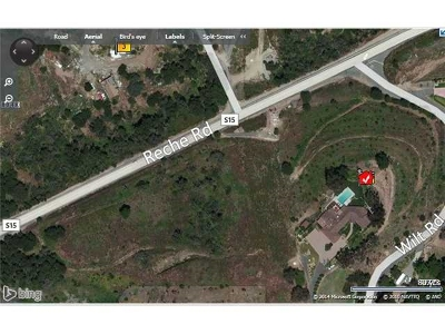 Fallbrook Residential Lots & Land For Sale: Reche Rd