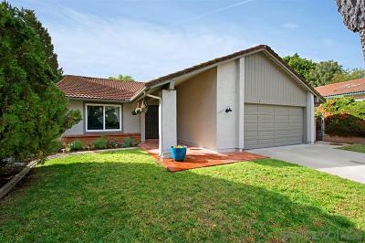 Escondido Single Family Home For Sale: 2035 Fuerte Lane