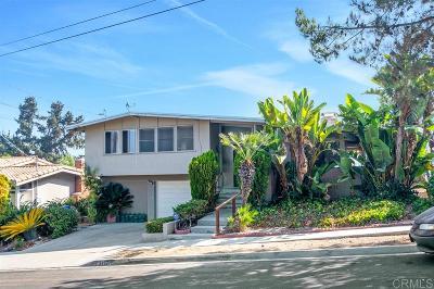 San Diego Single Family Home Pending: 5427 Redding Rd