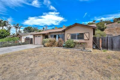 Vista Single Family Home For Sale: 333 Cananea Street