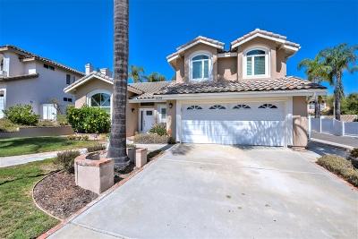 Vista Single Family Home For Sale: 633 Cantara Ln