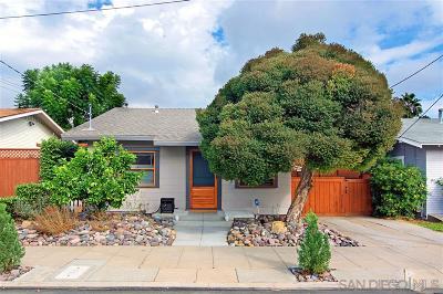 North Park, North Park - Morley Field, North Park Bordering South Park, North Park, Kenningston, North Park/City Heights, Northpark Single Family Home For Sale: 3437 Arizona Street