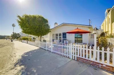 San Diego Multi Family 2-4 For Sale: 2912 Bayside Walk