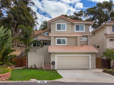 Carlsbad Single Family Home For Sale: 2718 Fernglen