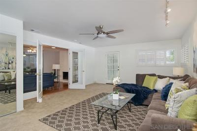 Clairemont Single Family Home For Sale: 7192 Malta St