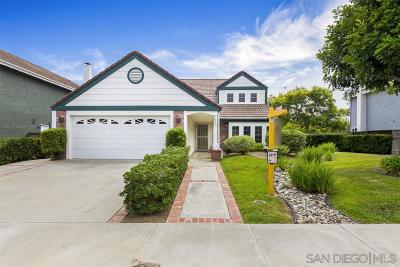 Carlsbad Single Family Home For Sale: 1735 Geranium St