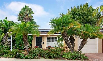 Ocean Beach Single Family Home For Sale: 1752 Redondo