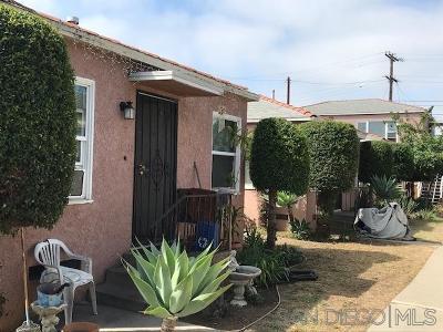 San Diego Multi Family 2-4 For Sale: 4026 Menlo Ave