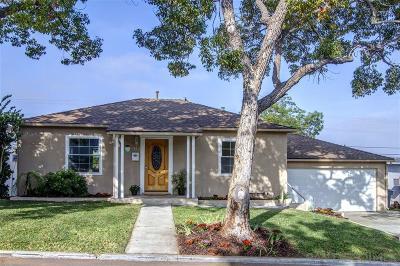 La Mesa Single Family Home For Sale: 4144 Blackton Dr