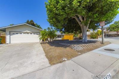 Oceanside Single Family Home For Sale: 2879 Colgate Dr