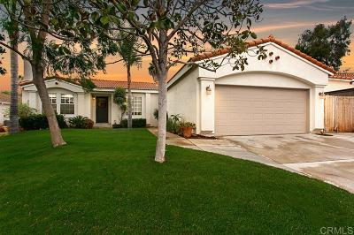 Vista Single Family Home Contingent: 2208 Dante Ter