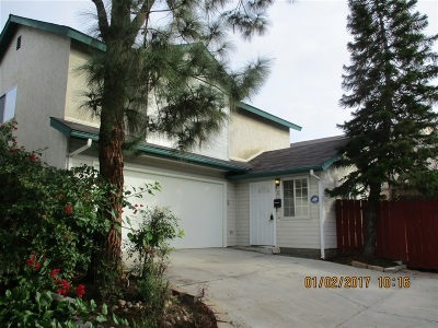 La Mesa Single Family Home For Sale: 4767 Jessie #d