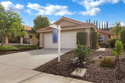 San Marcos Single Family Home For Sale: 1099 Camino Del Sol