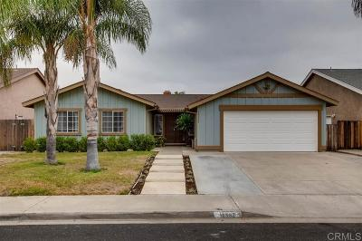 Santee Single Family Home For Sale: 10532 Cadwell Road