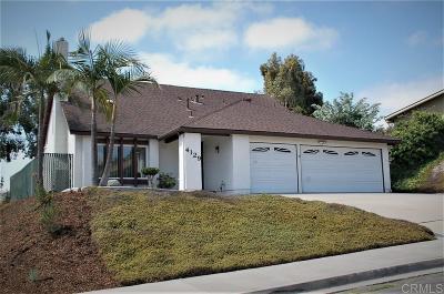 Oceanside Single Family Home For Sale: 4129 Auburn Avenue