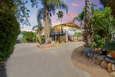Single Family Home For Sale: 30130 Miller Rd