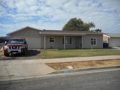 Santee Single Family Home For Sale: 9245 Dunbarton Rd