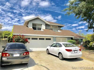 Oceanside Single Family Home For Sale: 4580 Mariners Bay