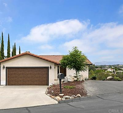 Escondido Single Family Home Sold: 28423 Wimbleton Ln