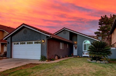 Escondido Single Family Home For Sale: 2432 Lake Forest Street