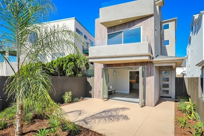Pacific Beach Single Family Home For Sale: 1064 Law St