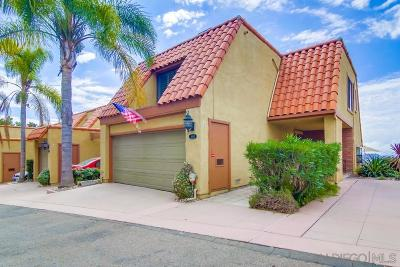 University Heights, University Heights/Hillcrest, University Heights/Mission Hills, University Heights/North Park Townhouse For Sale: 4444 Caminito Fuente