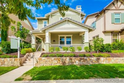 Single Family Home For Sale: 8500 Spreckels Lane