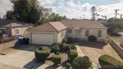 San Diego Single Family Home Sold: 106 Las Flores Terrace