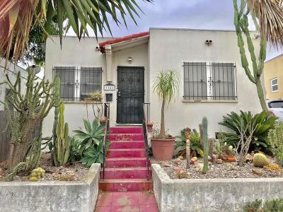 San Diego Single Family Home Pending: 3187 Lincoln Avenue