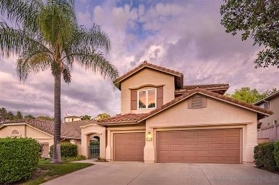 Escondido Single Family Home For Sale: 3666 Camino Marglesa