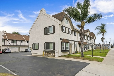 San Diego Townhouse For Sale: 655 13th #5