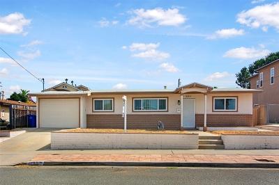 Clairemont, Clairemont Mesa, Clairemont Mesa East, Clairemont Unit 16, Clairmont Single Family Home For Sale: 4683 Southampton St