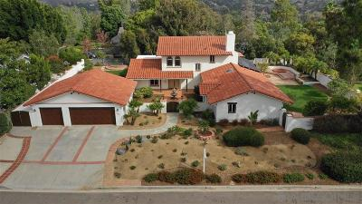 Encinitas Single Family Home For Sale: 343 Whitewood Pl