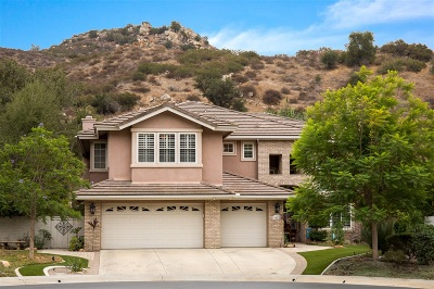Escondido Single Family Home For Sale: 3277 Rosewood Lane