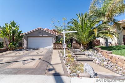 Murrieta Single Family Home For Sale: 25781 Saint Marta Dr