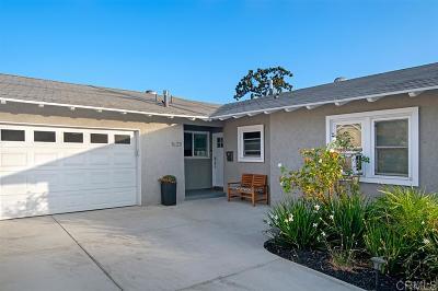 Single Family Home For Sale: 1623 El Prado Avenue