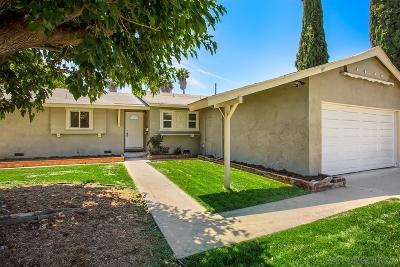 Escondido Single Family Home For Sale: 949 N Cedar St